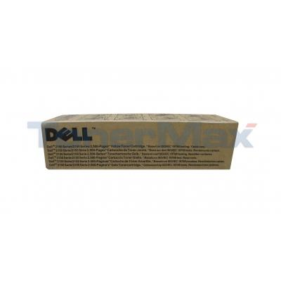 DELL 2150CN TONER CARTRIDGE YELLOW HY